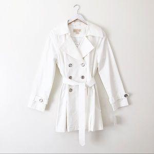 Michael Michael Kors White Trench Coat